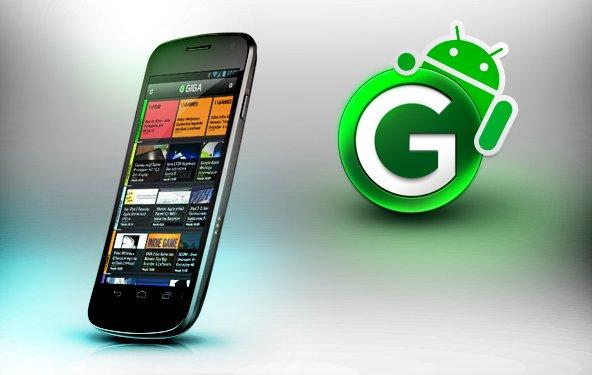 Die GIGA-App ist jetzt auch für Android verfügbar!
