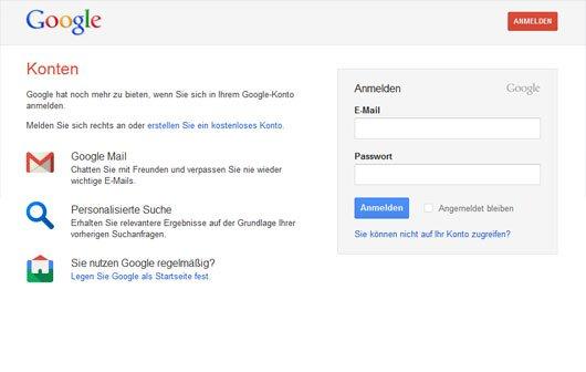 Account Activity: Google informiert Nutzer über gesammelte Daten