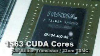 Nvidia Geforce GTX 680: weitere Details und Benchmarks geleakt