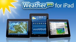 Neue Weather Maps fürs neue iPad mit WeatherPro for iPad 2.6