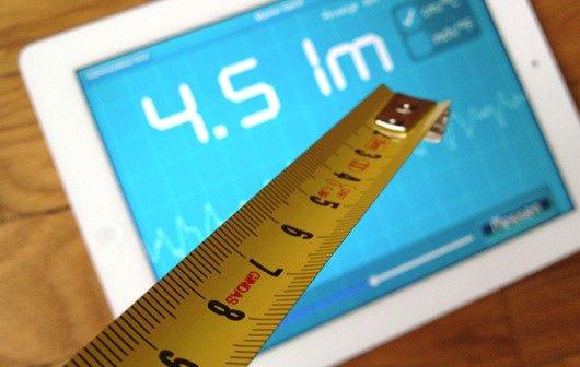 Acoustic Ruler Pro: Mit iPhone und iPad Entfernungen ausmessen