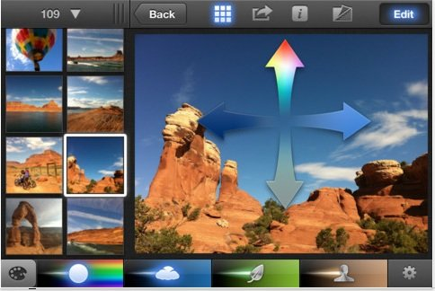 iPhoto jetzt als iPhone- und iPad-App