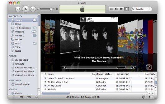 """Apple zu Cover Flow in iTunes: """"Nicht nützlich"""""""