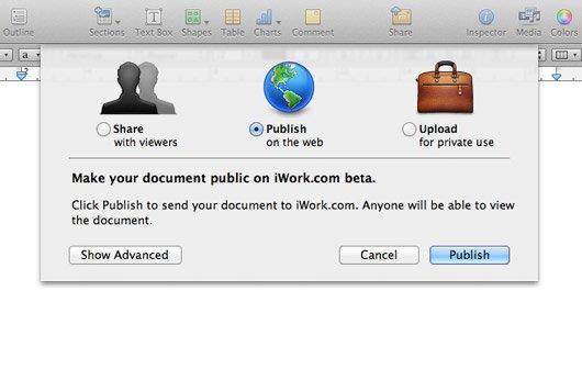Apple schließt iWork.com am 31. Juli 2012