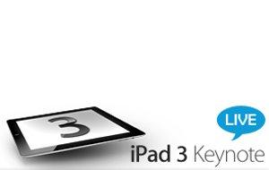 Apple-Event zum iPad 3: Liveticker auf GIGA
