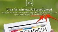 Kein LTE für das neue iPad in Österreich, Deutschland, Schweiz