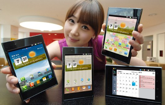 MWC 2012: LG Optimus Vu Hands-On