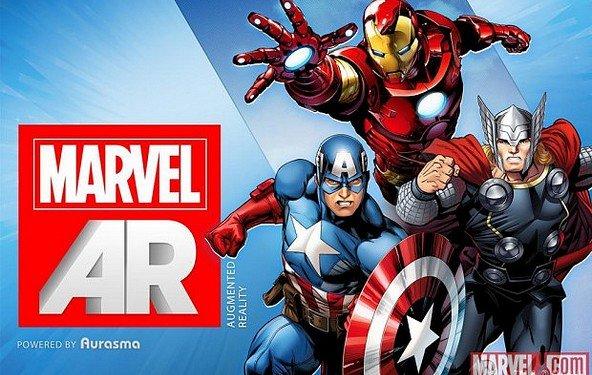 Marvel wird interaktiv - die Augmented Reality-App für Comics