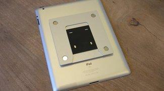m-duo: Magnet-Wandhalterung für iPad 2 und iPad 3