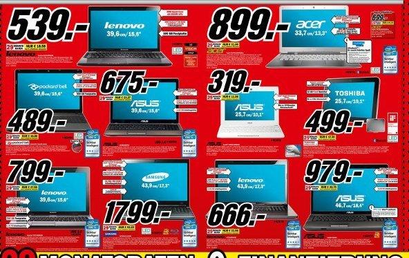 Prospekt-Check: Media Markt Notebooks & PCs - KW10