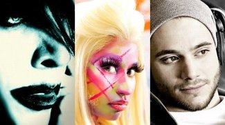 Musik-Vorschau April 2012: Die wichtigsten neuen Alben im April - Ärzte, Marilyn Manson, Roman Lob, Nicki Minaj