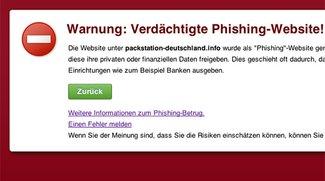 Phishing-Warnung: Packstation-Kunden aufgepasst - UPDATE
