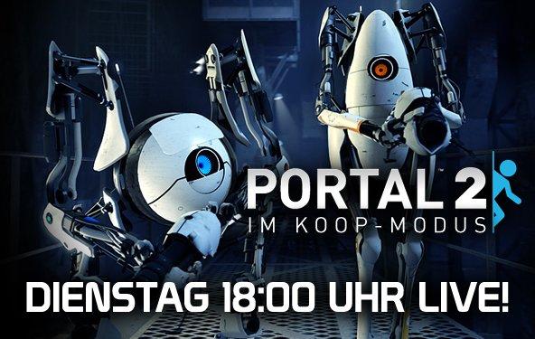 LIVE Gameplay - Portal 2 Koop-Modus