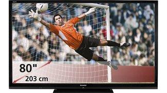 Sharp präsentiert den größten LCD-Fernseher Europas