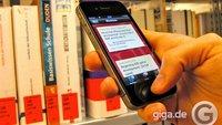 SLUB-Katalog fürs iPhone: Bibliothek im App-Zeitalter