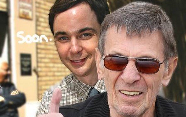 The Big Bang Theory - Gastauftritte von Stephen Hawking und Leonard Nimoy