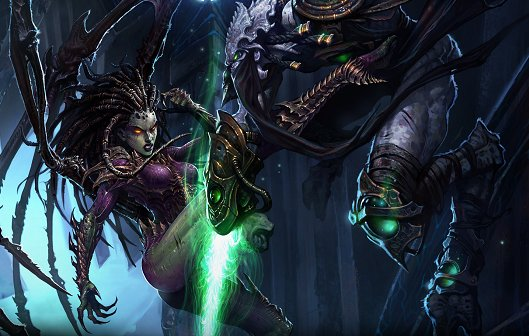 Starcraft 2 - Heart of the Swarm: Ist zu 99% fertig