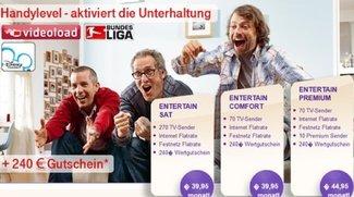 Telekom-Entertain-Paket dank Wertgutschein jetzt ab 29,95 Euro