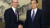 Tim Cook in China: Treffen mit Vize-Premier, Pekinger Bürgermeister und China Mobile
