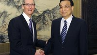 Tim Cook in China: Treffen mit Vize-Premier, Pekinger Bürgermeister und China Mobile