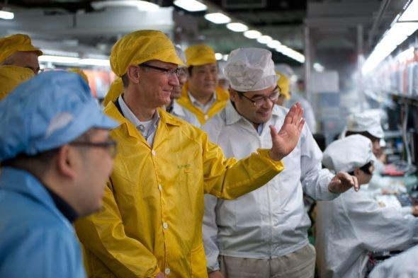 Tim Cook in China: Apples Chef besuchte auch ein Foxconn-Werk