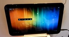 Toshiba AT330: 13,3 Zoll-Tablet im Hands-On Video