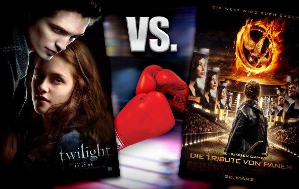 Die Tribute von Panem vs. Twilight - welcher Film ist besser?