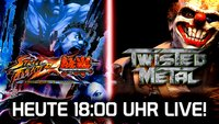 LIVE Gameplay - Street Fighter X Tekken, Twisted Metal und Jak & Daxter