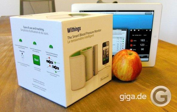 Withings Blutdruckmessgerät für iPhone und iPad: Testbericht