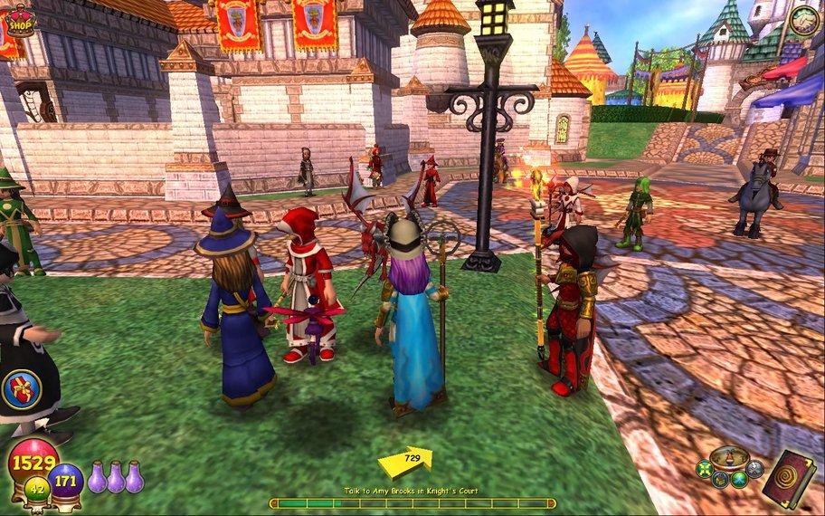 Wizard101: Zieht alleine los oder sammelt eure Freunde um euch