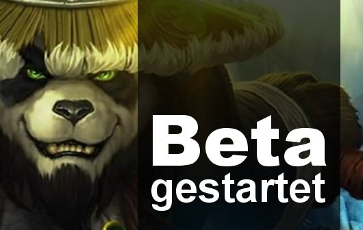World of Warcraft: Mists of Pandaria-Beta gestartet