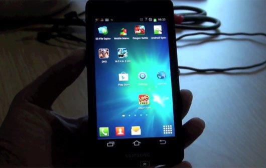Samsung Galaxy S3: Video zeigt einen Prototypen in Aktion