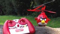 Angry Birds-Helikopter: Fernsteuerbarer Kampfvogel