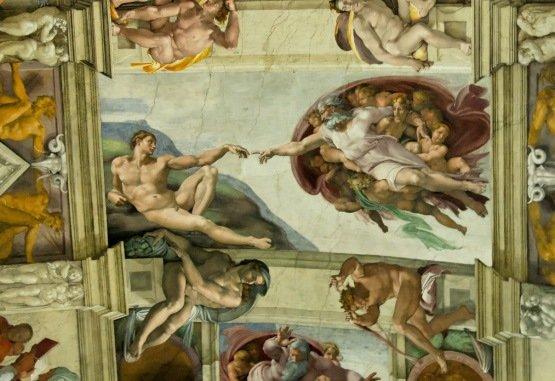 Apple Patent zum iMac touch: Michelangelo legt Hand an