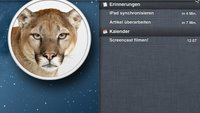 OS X 10.8 Mountain Lion: Folge 1 - Die Mitteilungszentrale