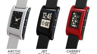 Pebble: Uhr mit E-Paper-Ziffernblatt für iOS und Android bricht alle Rekorde