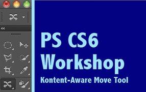Photoshop CS6: Das neue Kontent-Aware Move Tool im Einsatz