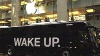 Wake-Up-Flashmob in Australien: Aktion von Research In Motion?