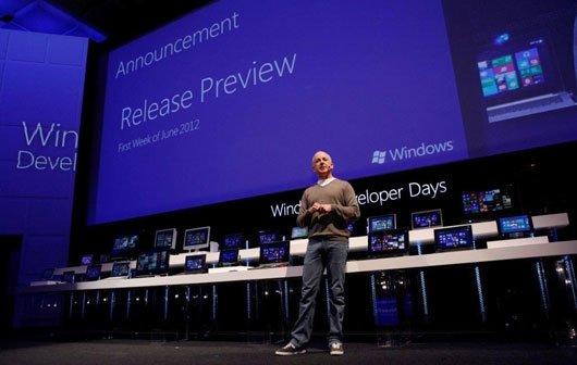Windows 8 Release Preview für Anfang Juni angekündigt