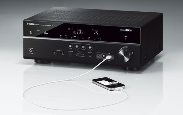 Yamaha: Neue RX-V73-Receiver-Serie mit AirPlay-Funktion