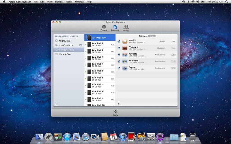iOS-Geräte-Verwaltung: Apple veröffentlicht Apple Configurator 1.0.1