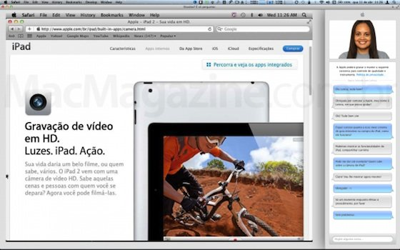 Apple Store: Apple testet Screencast für Chat-Funktion