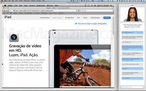 Apple Store: Apple testet Screencast für Chat-Funktion