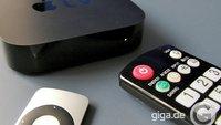 Apple TV: Alternative Fernbedienungen nutzen