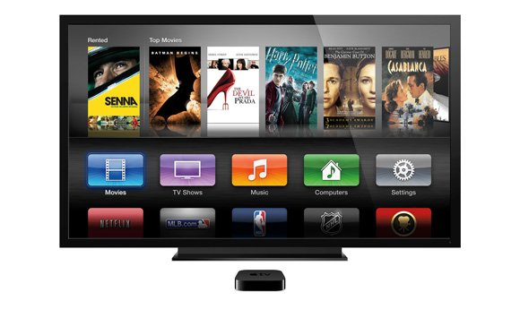 Apple TV Bedienoberfläche