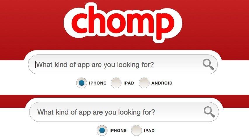 Chomp: Apple-Tochter unterstützt keine Android-App-Suche mehr