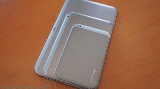 Tablet-Armada von Toshiba: Excite 7.7, 10 und 13 vorgestellt