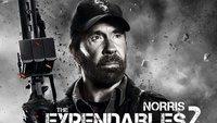 The Expendables 2 - 12 Charakterposter für Arnie, Chuck, Brucie,...