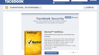 Facebook öffnet Marketplace für Antivirus-Software