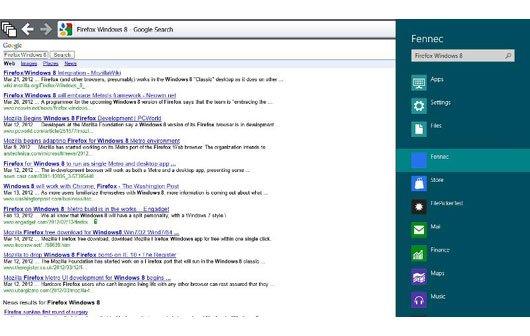 Mozilla zeigt erste Bilder von Firefox im Metro-Stil